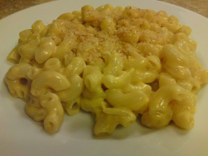 Plate of Kraft Homestyle Macaroni and Cheese picture