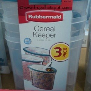 Rubbermaid 3 Pack Cereal Keeper