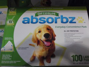 Optima Absorbz Dog Pad at Costco