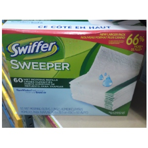 Swiffer Sweeper Wet 60-count at Costco