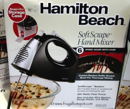 Hamilton Beach Soft Scrape Hand Mixer Costco