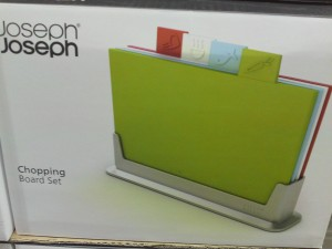 Joseph Joseph Set of 4 Index Color Coded Cutting Boards