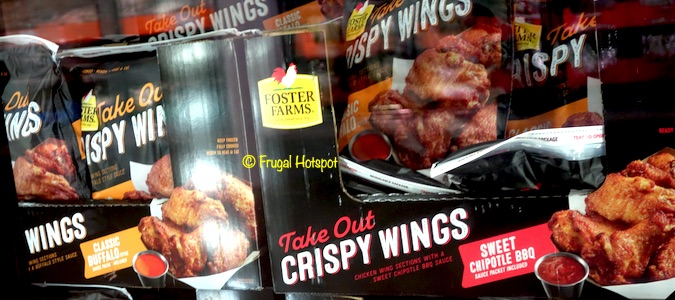 Foster Farms Take Out Crispy Chicken Wings 4-lb Bag Costco