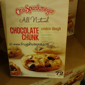 Otis Spunkmeyer All Natural Chocolate Chunk Cookie Dough at Costco | Frugal hotspot