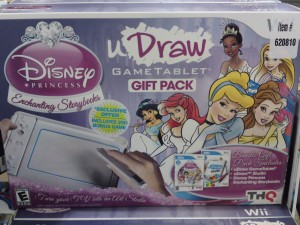uDraw GameTablet Gift Pack With Disney Princess Enchanting Storybooks & uDraw Studio
