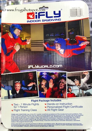 iFly Flight Package Costco