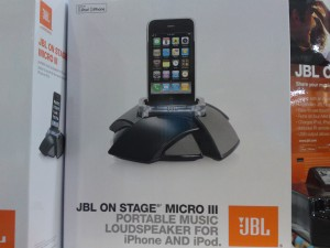 Picture of JBL On Stage Micro III Portable Music Loudspeaker for iPhone and iPod