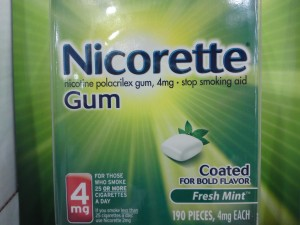 Nicorette Gum 4mg Fresh Mint