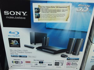 Picture of Sony 3D Blu-ray Home Theater System