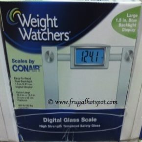 Costco Sale: Conair Weight Watchers Digital Glass Scale $14.99