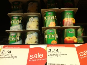 Activia on Sale at Target