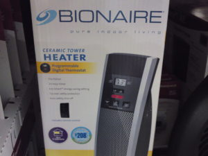 Bionaire Ceramic Tower Heater Costco | Frugal Hotspot
