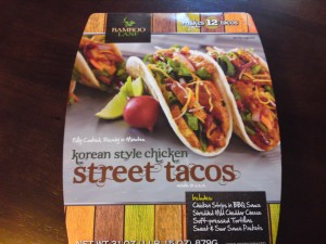 Bamboo Lane Korean Style Chicken Street Tacos at Costco | Frugal Hotspot