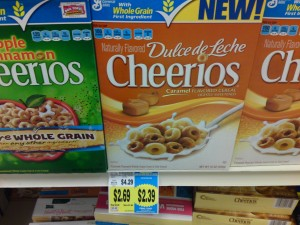 Dulce Cheerios at Fred Meyer