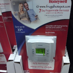 Honeywell 7 Day Programmable Thermostat at Costco | Frugal Hotspot