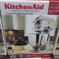 KitchenAid 4.5 Quart Stand Mixer at Costco | Frugal Hotspot
