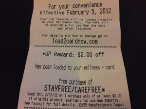 Picture of Rite Aid New +UP Reward Policy in Seattle, Richmond, Salt Lake City