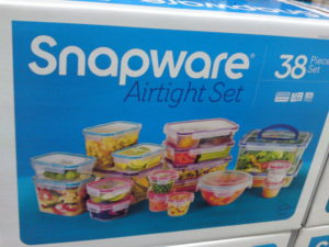 Snapware 38 Piece Food Storage Set at Costco | Frugal Hotspot