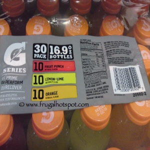 Gatorade 30 Count Variety Pack Costco