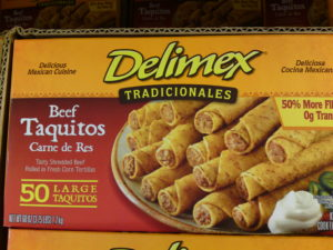 Delimex Beef Taquitos at Costco