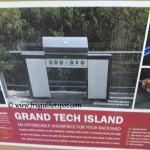 Costco Clearance: Grand Tech Island Grill by Grand Hall $499.97