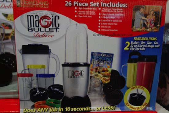 Magic Bullet Deluxe 26 Piece Blender Set at Costco