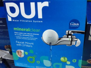 Costco Deal: PUR Faucet Mount + 2 Filters $29.99