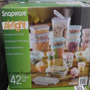 Costco Deal BPA Free Snapware 42 Piece Plastic Storage Container