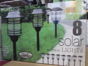 Costco Clearance: Solar Pathway Lights 8 Piece Set $19.99