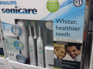 Philips Sonicare HealthyWhite Rechargeable Sonic Toothbrush Sets at Costco