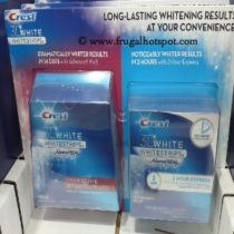 Crest 3D Whitestrips Advanced Seal and 2 Hour Express at Costco