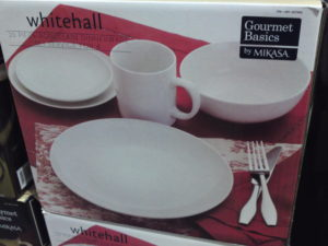 Gourmet Basics by Mikasa Whitehall 20 Piece Dinnerware Set at Costco