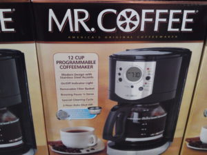 Mr. Coffee 12 Cup Programmable Coffee Maker With Stainless Steel Accents at Costco