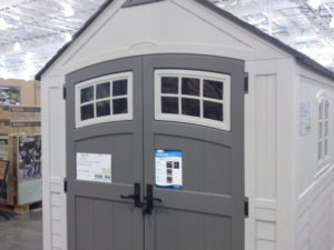 Costco Sale: Suncast 7′ x 7′ Resin Outdoor Storage Shed $599.99