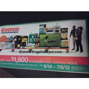 Costco Coupon Book: June 14 – July 8, 2012. Prices Listed.