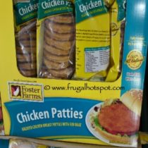 Foster Farms Breaded Chicken Breast Patties (with Rib Meat) 5 Lbs at Costco