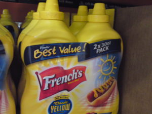 French's Mustard 2/30 oz at Costco
