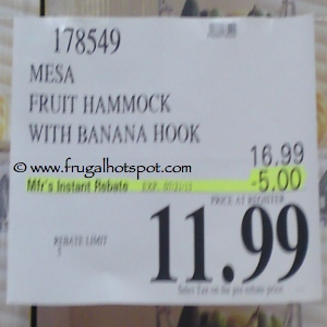 Mesa Fruit Hammock With Banana Hook Costco Price