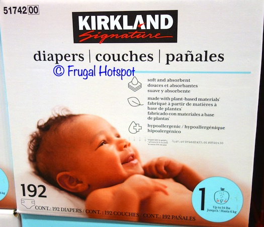 Kirkland Signature Diapers Costco