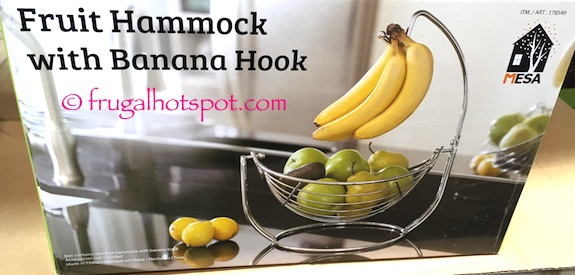 Mesa Fruit Hammock with Banana Hook Costco | Frugal Hotspot