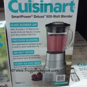 Costco Deal: Cuisinart SmartPower Deluxe 600-Watt Blender $48.99