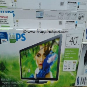"Philips 40"" Class 1080p Edge LED LCD TV (40 PFL4707/F7) at Costco"