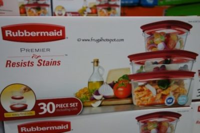 Costco Sale: Rubbermaid 30 Piece Premier Food Storage $19.99