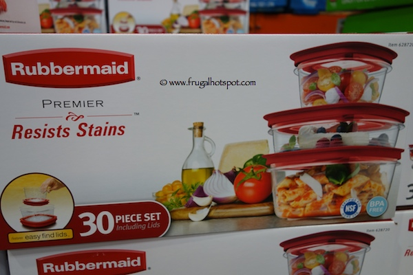 Rubbermaid Premier Food Storage Set Costco