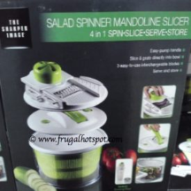 Sharper Image 4 in 1 Salad Spinner Costco