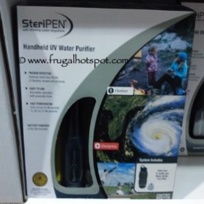 Costco Price Cut: SteriPEN Handheld Water Purifier $39.99