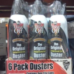 Falcon Dust-Off Professional Compressed Gas 12-ounce (6-Pack) Costco