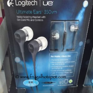 Costco Price Cut: Logitech Ultimate Ears 350vm Headphones With Mic $34.99