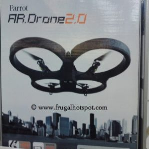 Wi-Fi Remote Control Parrot Quadricopter AR Drone 2.0 With Smartphone and Tablet Control Costco