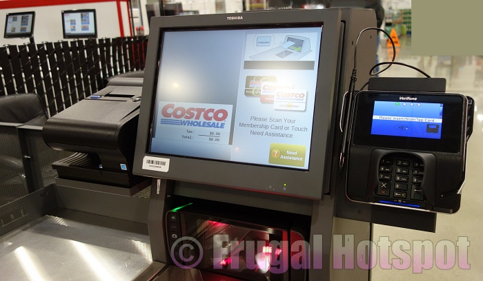 Costco Self Checkout is Back